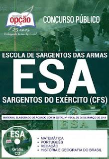 baixar Apostila Sargento do Exército EsSA (ESA) 2018