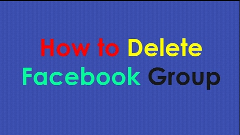 How to delete a group on Facebook you made | Delete FB group without administrator