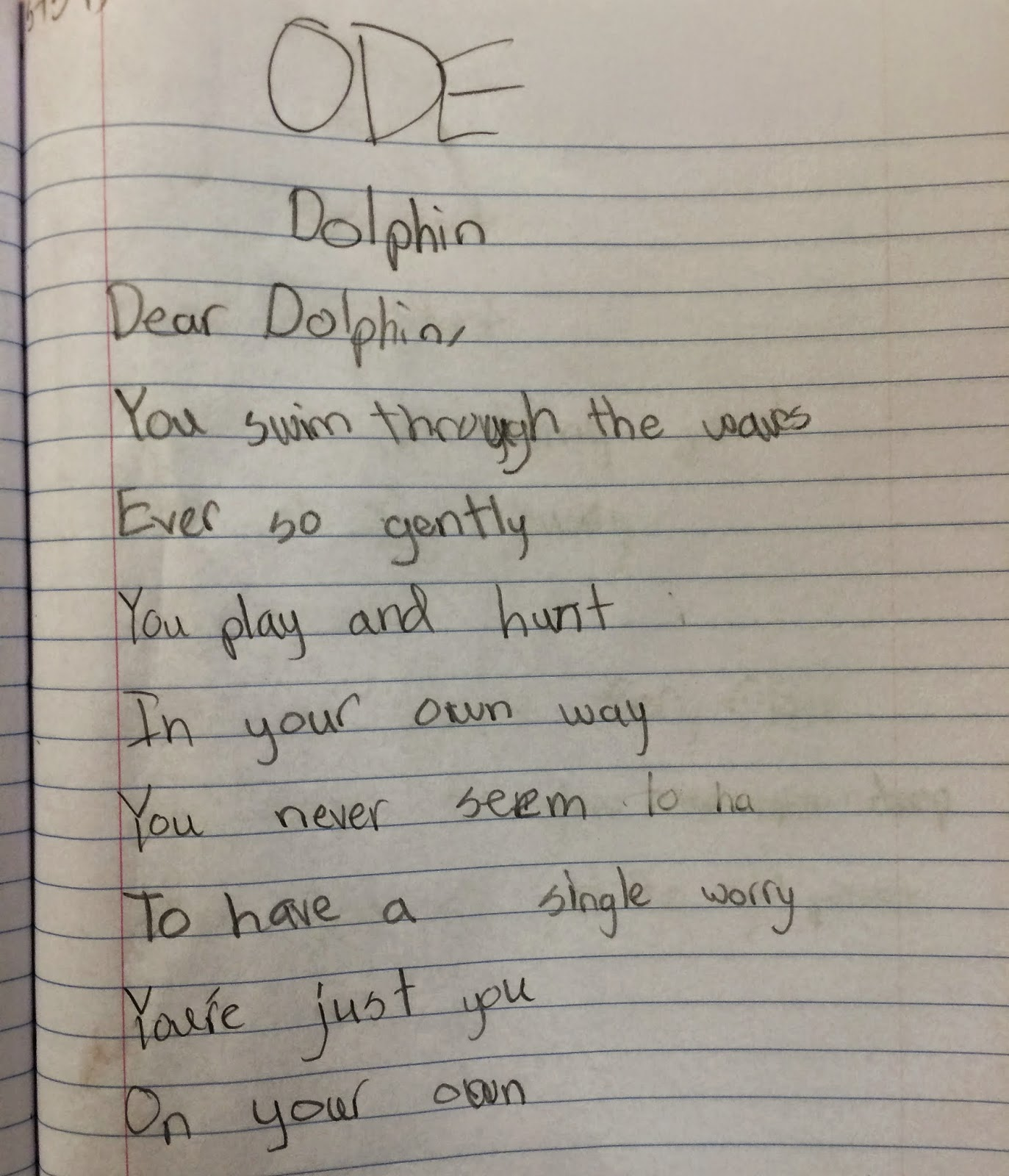 Lyrical Poetry For 3rd Grade