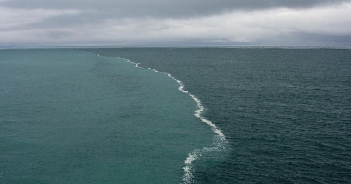 alaska where two oceans meet but dont mix