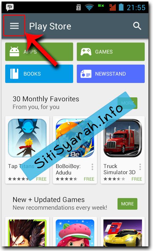Menonaktifkan Update Otomatis Android