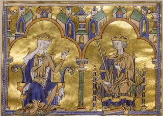 Blanche of Castile and King Louis IX