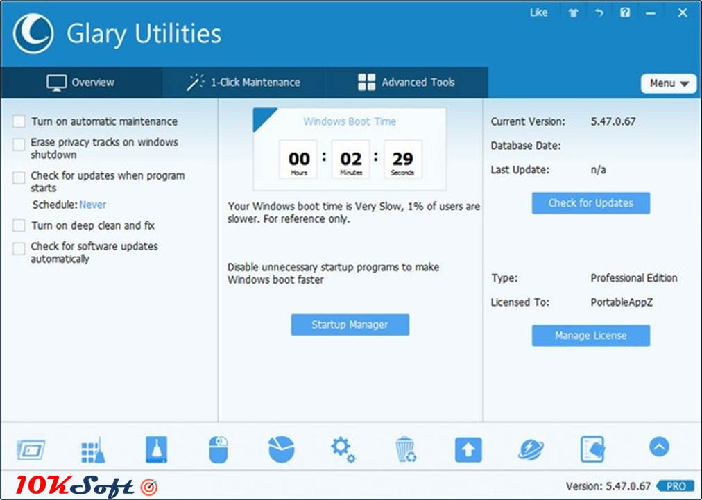 Glary Utilities Pro v5.84.0.105 Direct Link Free Download