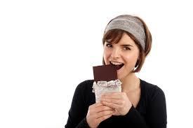 Makan banyak coklat