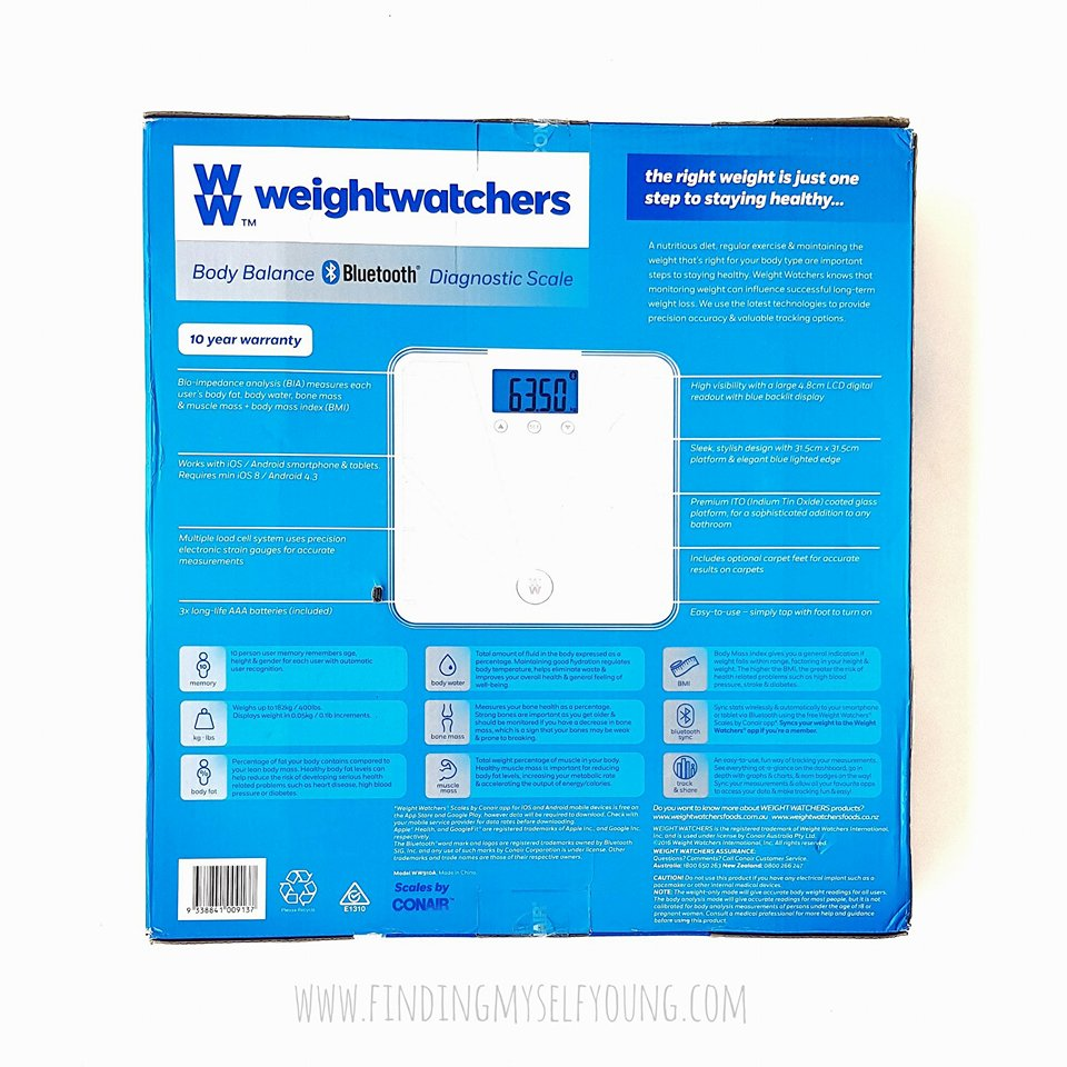 Finding myself young weight watchers body balance bluetooth as soon as i found out what the scale can do i was blown away ive only ever owned scales that literally measure weight and analog ones that end up moving nvjuhfo Images