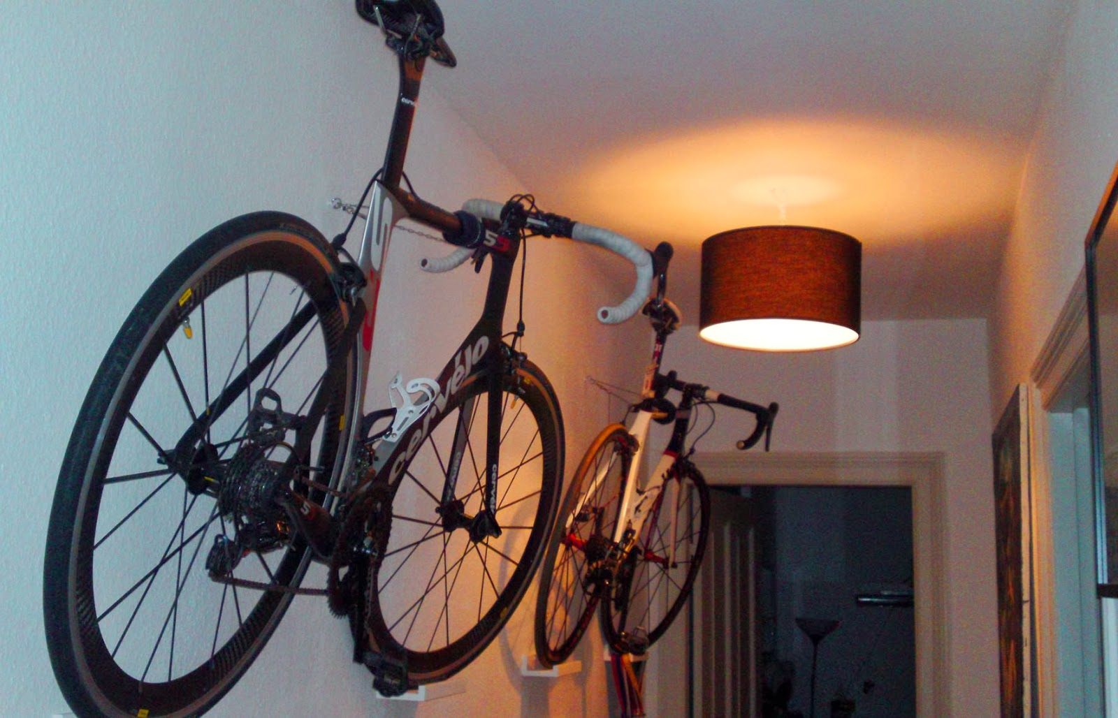 Fahrrad Halterung Wand  Wohndesign