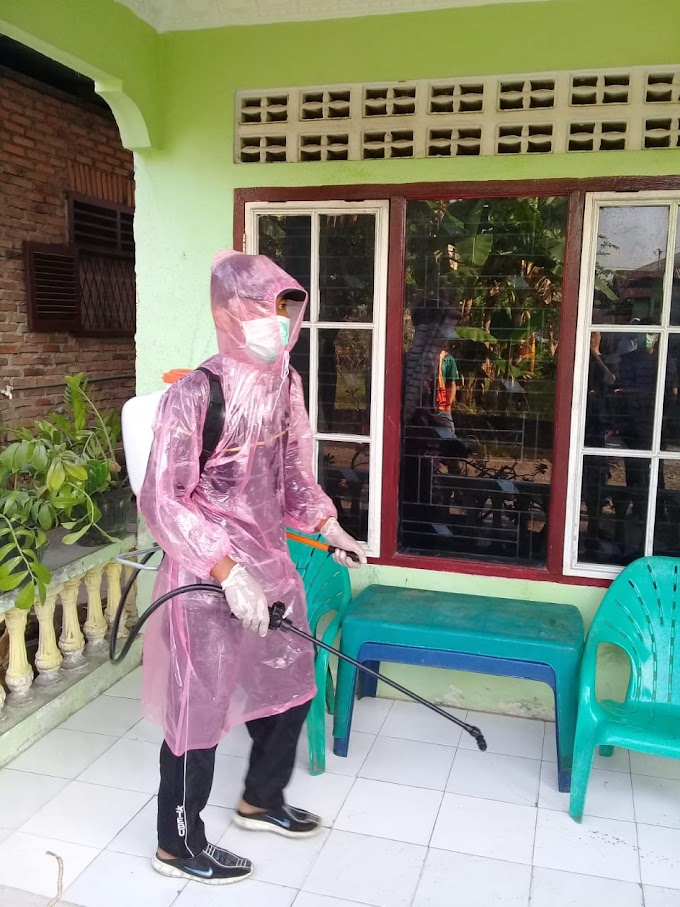 Aksi Para Cowok Dusun Peduli Wabah Covid-19 Di Lingkungan Dusun