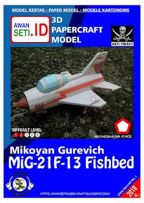Chibi MiG-21F-13 Fishbed (AURI)