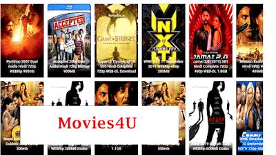 Movies4u 2020- Latest HD Bollywood Movies Download Movies4u