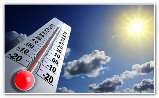 درجات الحرارة المرتقبة المرتقبة غدا الثلاثاء 9 اكتوبر 2018