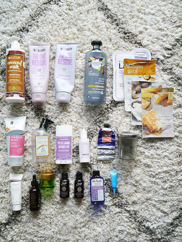 Empty skin, body, hair care and beauty products