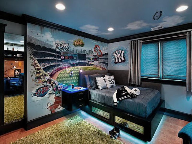 Boy Bedroom Ideas: Bring the Sport and Music Zone Boy Bedroom Ideas: Bring the Sport and Music Zone 3