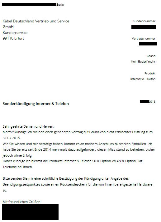 Kabel Deutschland Retourenschein : my tech corner kabel deutschland sonderk ndigung leicht gemacht ~ Watch28wear.com Haus und Dekorationen