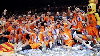 BALONCESTO - El Valencia Basket es tetracampeón de la Eurocup