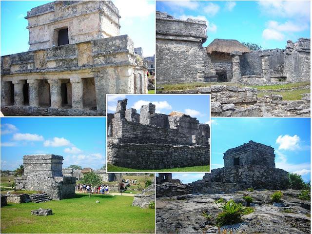 ruinas mayas casas tulum riviera maya
