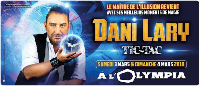 Tic Tac, le nouveau spectacle de Dani Lary à l'Olympia