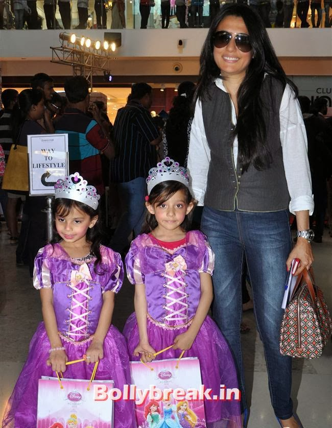 Mini Mathur, Indian Tv Celebs Meet Disney Princesses