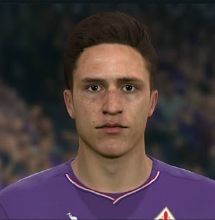 PES 2017 Faces Federico Chiesa by Sameh Momen