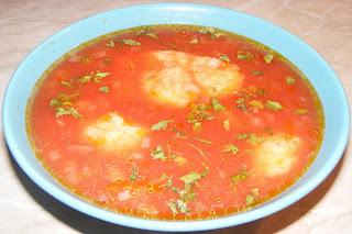 supa de rosii cu galuste, supe, supa, retete, retete culinare, retete de mancare,