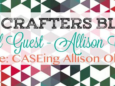 Crazy Crafters March Blog Hop with Allison Okamitsu