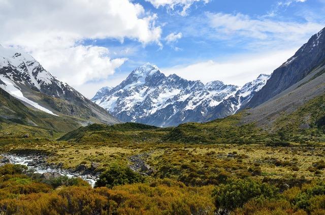 Mount Cook, Selandia Baru