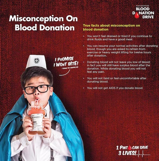 Misconception On Blood Donation