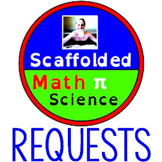 Scaffolded Math and Science pennant requests