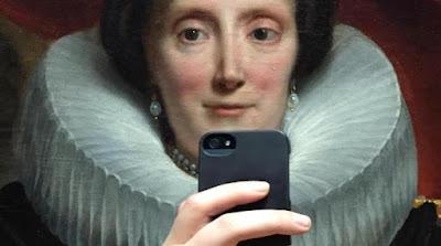 Selfies, η μάστιγα των μουσείων