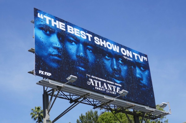 Atlanta season 2 Emmy consideration billboard
