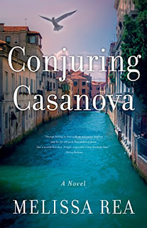 Conjuring Casanova - a romantic novel bt Melissa Rea