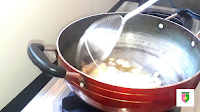 image of frying gond