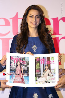 Bollywood Actress Juhi Chawla Launchs Better Homes 10th Anniversary Celetion Cover  0007.JPG