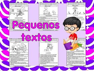Pequenos textos para alfabetização 1º ano