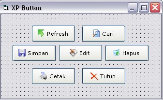 Download XP Button For Visual Basic 6.0