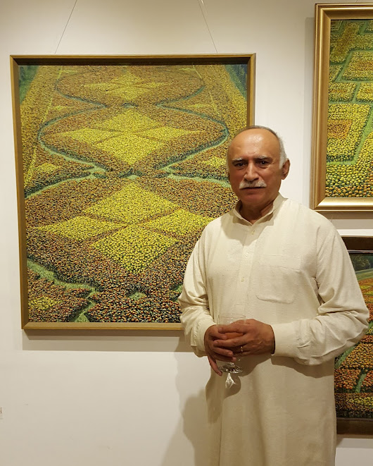 Shahid Jalal's Flower Carpets of Lahore  | Occasional Diary