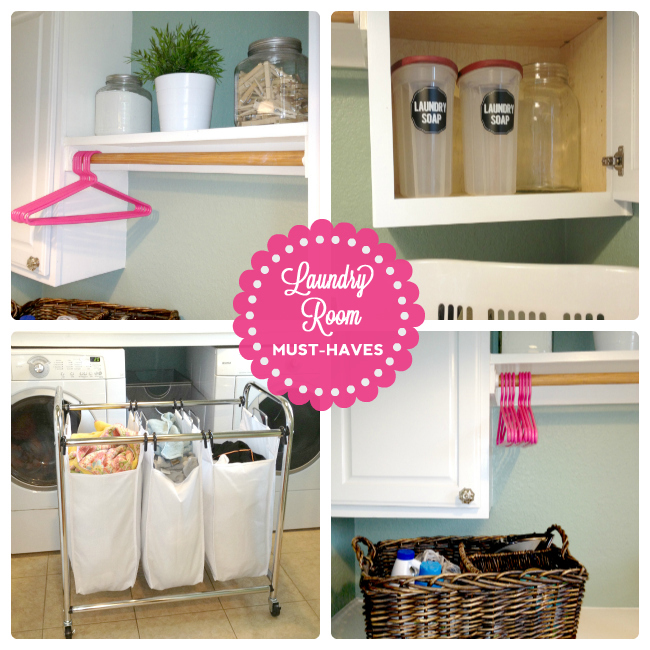 the good life blog]: Laundry room makeover + some laundry must-
