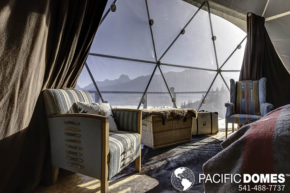 shelter domes dome homes by pacific domes there are purists who believe it s not camping unless you re sleeping on the ground and waging a nightly war for your blood against an army of mosquitos