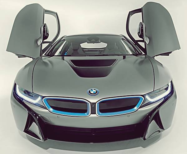 2017 BMW i8 Facelift With Horsepower