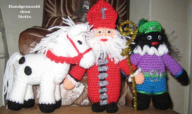 Sieties Kaarten Sinterklaas En Pieterbaas En Amerigo