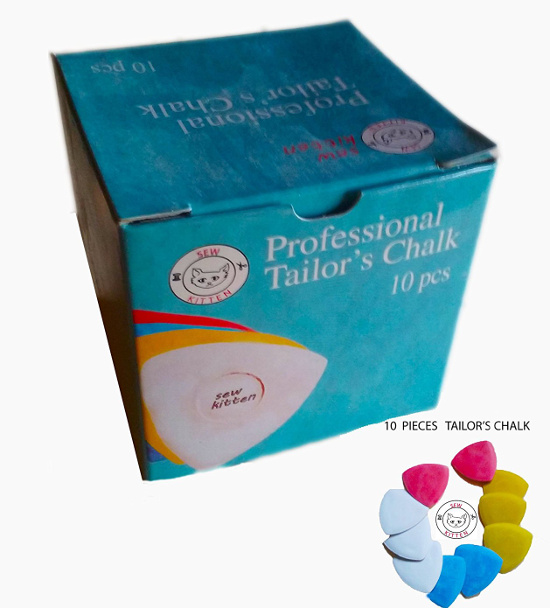marking pencils fabric triangle tailors chalk