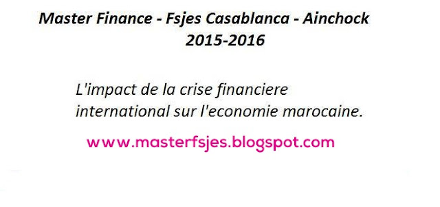 Master Finance - Fsjes Ain Chock
