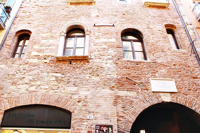 La casa di Giulietta Juliet's house in Verona