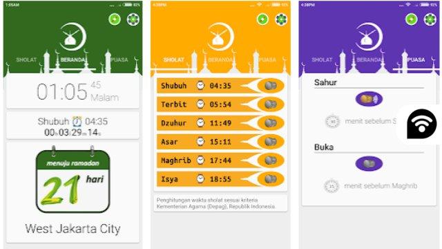 Aplikasi alarm ramadan terbaik