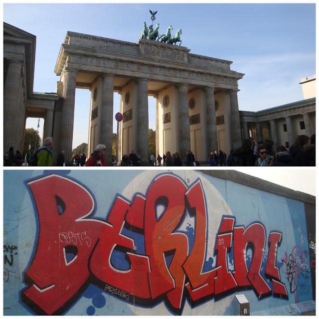 Portão de Brandemburgo e Muro de Berlim
