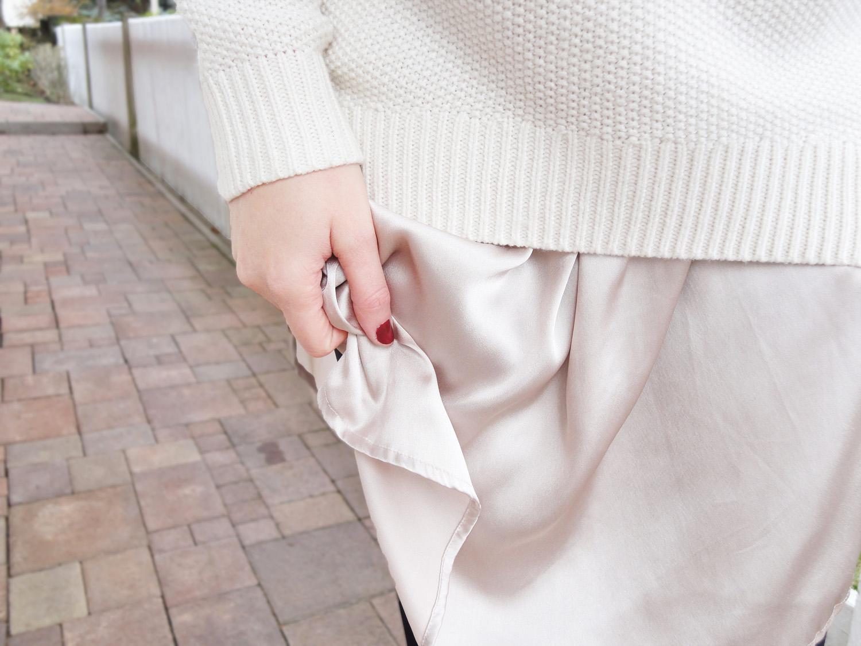 pullover darunter bluse