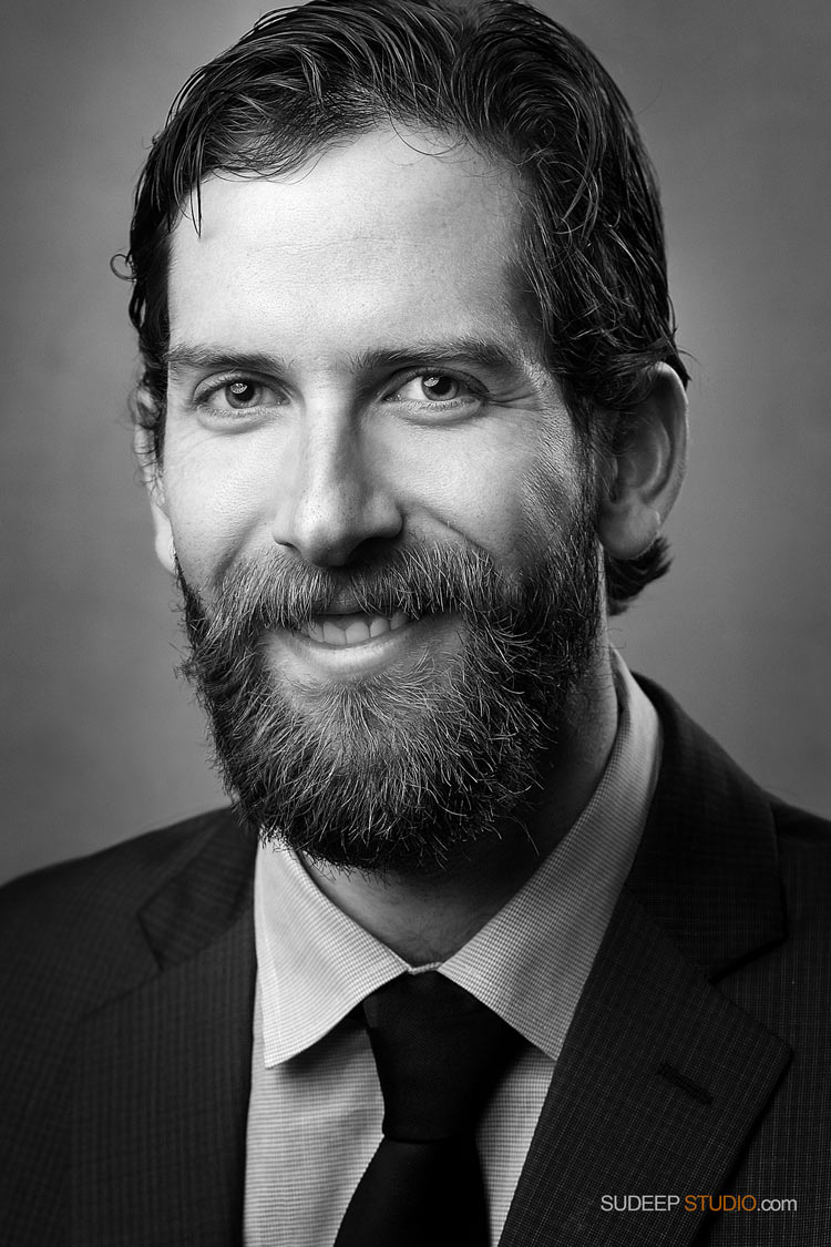 Professional Black White Portrait Modern Model Headshots SudeepStudio.com Ann Arbor Professional Portrait Photographer