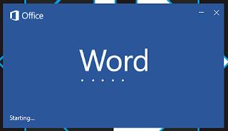 Memulai microsoft word