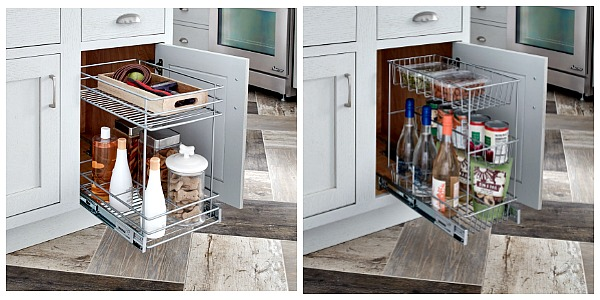 Enter To Win Both Of These Pull Out Basket Organizers From ClosetMaid  Featured On Walking