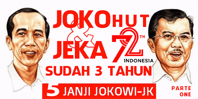 HUT RI 72. Mengenang 5 Janji Kampanye Jokowi-JK Part 1