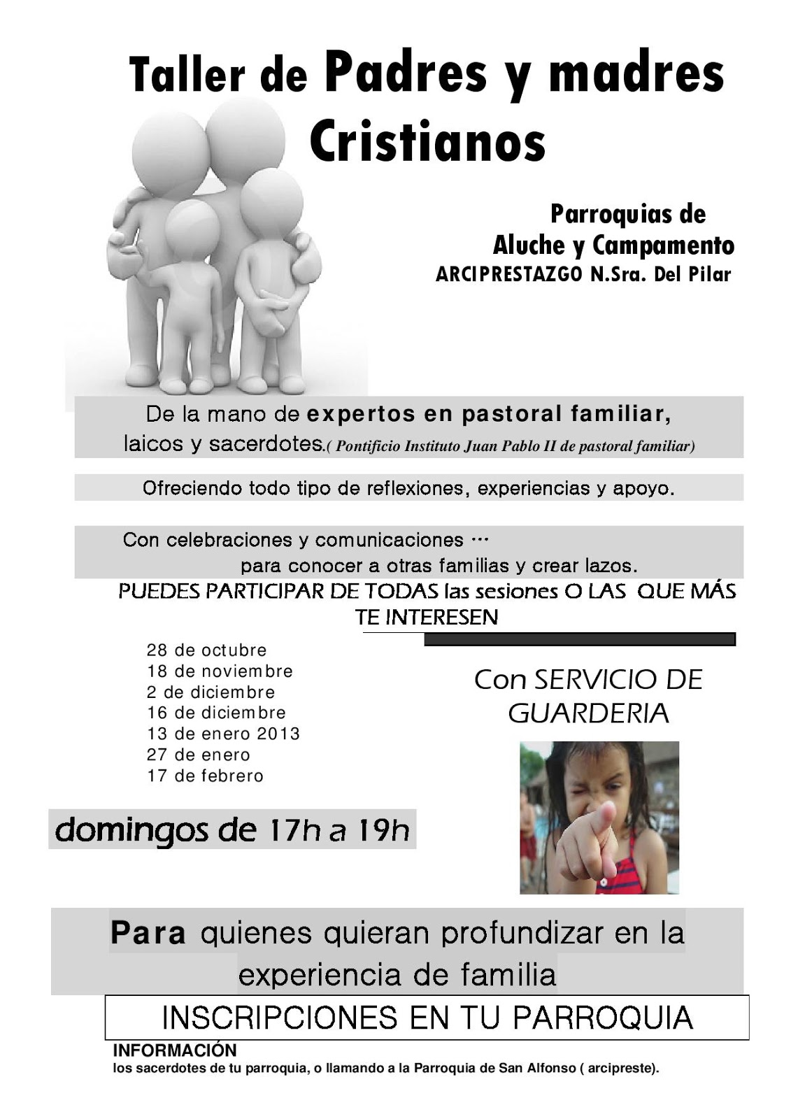 Nosotros Omi Taller De Para Padres Y Madres Cristianos